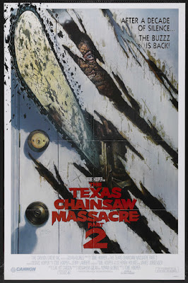 The Texas Chainsaw Massacre Part 2 (1986, USA) movie poster