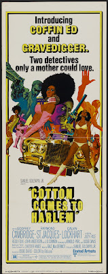 Cotton Comes to Harlem (1970, USA) movie poster
