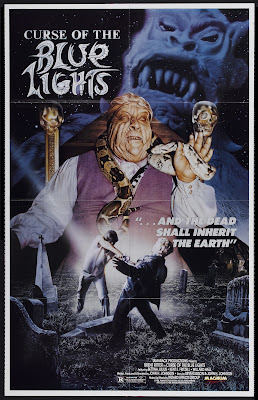 Curse of the Blue Lights (1988, USA) movie poster