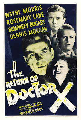 The Return of Doctor X (1939, USA) movie poster