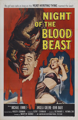 Night of the Blood Beast (1958, USA) movie poster