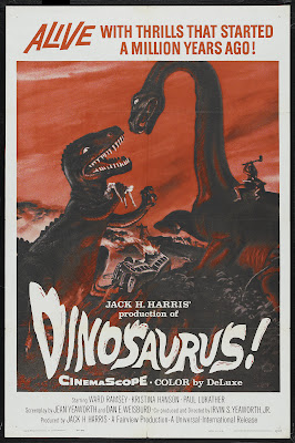 Dinosaurus! (1960, USA) movie poster