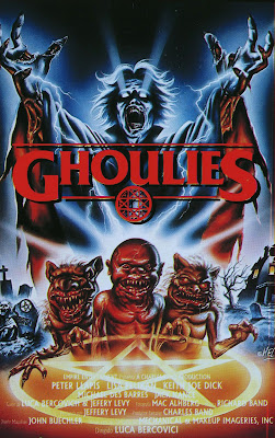 Ghoulies (1985, USA) movie poster