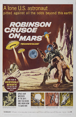 Robinson Crusoe on Mars (1964, USA) movie poster