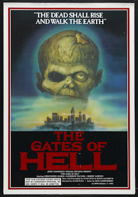 City of the Living Dead (Paura nella città dei morti viventi, aka The Gates of Hell) (1980, Italy) movie poster
