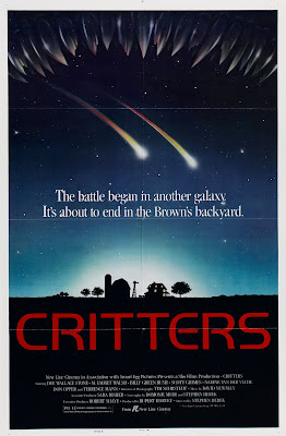 Critters (1986, USA) movie poster