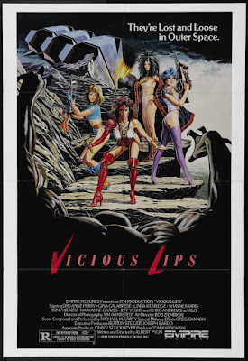 Vicious Lips (aka Pleasure Planet) (1987, USA) movie poster