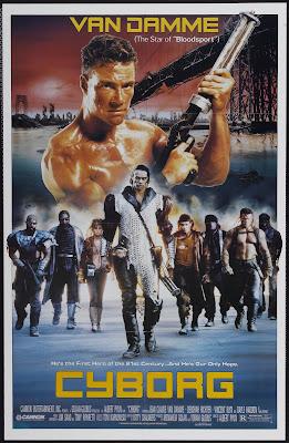 Cyborg (1989, USA) movie poster