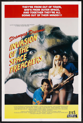 Invasion of the Space Preachers (1990, USA) movie poster