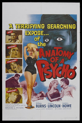 Anatomy of a Psycho (1961, USA) movie poster