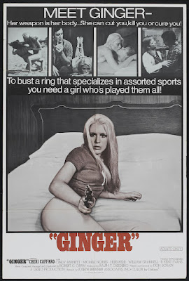 Ginger (1971, USA) movie poster