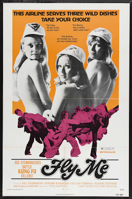 Fly Me (1973, USA / Philippines) movie poster