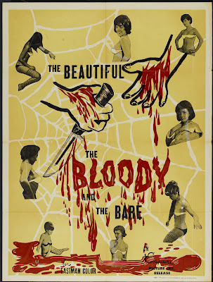 The Beautiful, the Bloody, and the Bare (1964, USA) movie poster