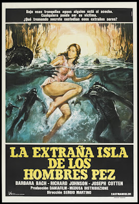 Island of Fishmen (L'isola degli uomini pesce aka Screamers) (1979, Italy) movie poster