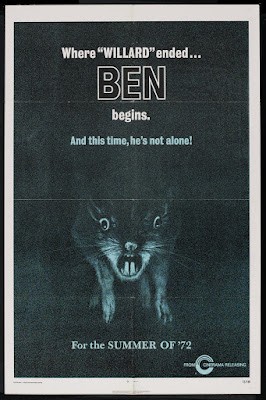 Ben (1972, USA) movie poster