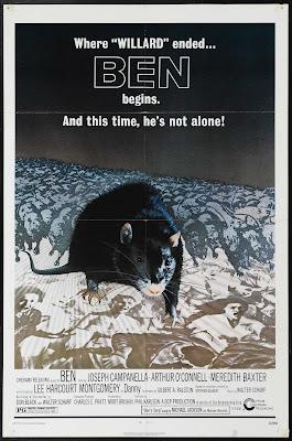 Ben (1972, USA) movie poster