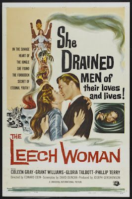 The Leech Woman (1960, USA) movie poster
