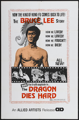 Bruce Lee, We Miss You (Chin se tai yang, aka Dragon Dies Hard, aka Bruce Li, Superdragon) (1976, Hong Kong) movie poster