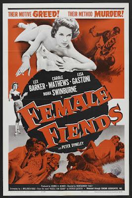 Strange Awakening (aka Female Fiends) (1958, UK) movie poster