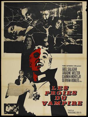 The Vampire's Coffin (El Ataúd del Vampiro) (1958, Mexico) movie poster