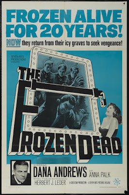 The Frozen Dead (1966, UK) movie poster
