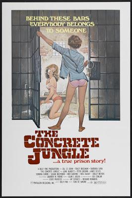 The Concrete Jungle (1982, USA) movie poster