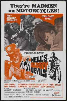 Hell's Bloody Devils (1970, USA) movie poster