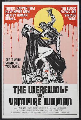 The Werewolf Vs. Vampire Women (La Noche de Walpurgis / Walpurgis Night, aka Werewolf Shadow) (1971, Spain / Germany) movie poster