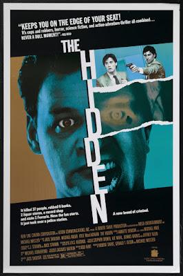 The Hidden (1987, USA) movie poster