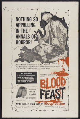 Blood Feast (1963, USA) movie poster