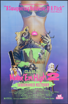 Class of Nuke 'Em High Part II: Subhumanoid Meltdown (1991, USA) movie poster