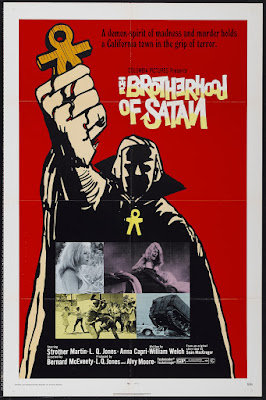 The Brotherhood of Satan (1971, USA) movie poster
