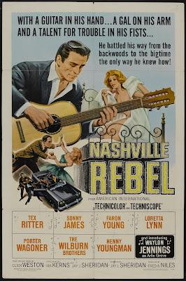 Nashville Rebel (1966, USA) movie poster