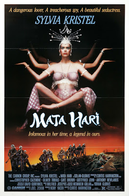 Mata Hari (1985, USA) movie poster