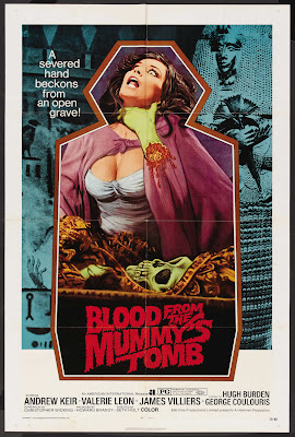 Blood from the Mummy's Tomb (1971, UK) movie poster