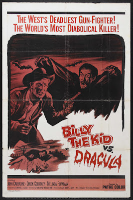 Billy the Kid versus Dracula (1966, USA) movie poster