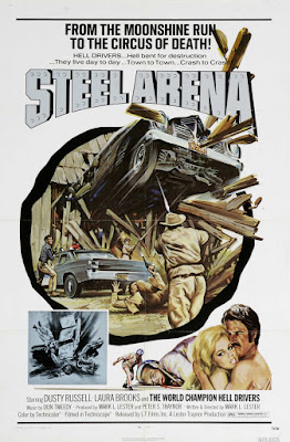 Steel Arena (1973, USA) movie poster