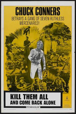 Kill Them All and Come Back Alone (Ammazzali tutti e torna solo) (1968, Italy) movie poster