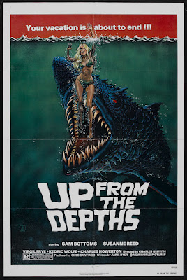 Up from the Depths (1979, USA / Philippines) movie poster