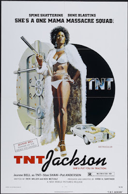 T.N.T. Jackson (1975, USA / Philippines) movie poster