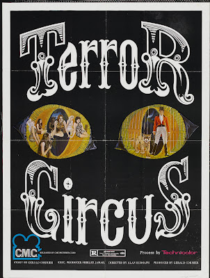 Barn of the Naked Dead (aka Nightmare Circus, aka Terror Circus) (1974, USA) movie poster