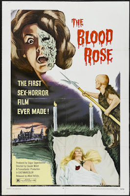 The Blood Rose (La rose écorchée) (1970, France) movie poster