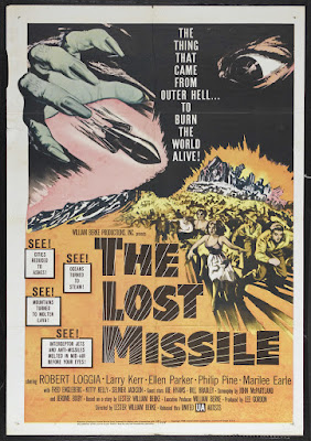 The Lost Missile (1958, USA) movie poster