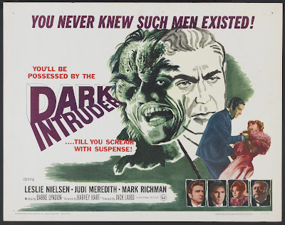 Dark Intruder (aka Black Cloak) (1965, USA) movie poster