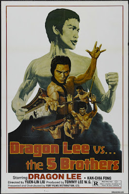 Dragon Lee vs. Five Brothers (Wu da di zi) (1978, Hong Kong / South Korea) movie poster