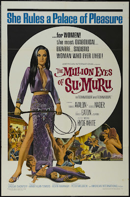 The Million Eyes of Sumuru (1967, UK) movie poster