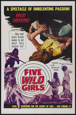 Five Wild Girls (Cinq filles en furie) (1963, France) movie poster
