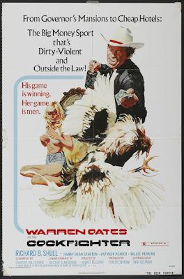 Cockfighter (aka Born to Kill) (1974, USA) movie poster
