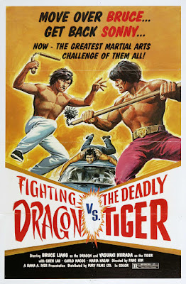 The Fighting Dragon vs. Deadly Tiger (1980, Hong Kong) movie poster
