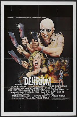 Delirium (1979, USA) movie poster